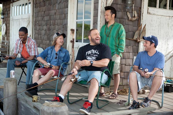 Büyükler : Fotograf Adam Sandler, Chris Rock, David Spade, Dennis Dugan, Kevin James