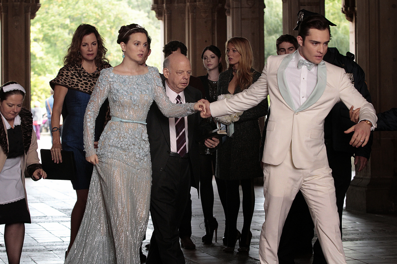 Fotograf Blake Lively, Chace Crawford, Ed Westwick, Leighton Meester, Margaret Colin