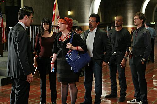 Criminal Minds : Fotograf Joe Mantegna, Kirsten Vangsness, Matthew Gray Gubler, Paget Brewster, Shemar Moore