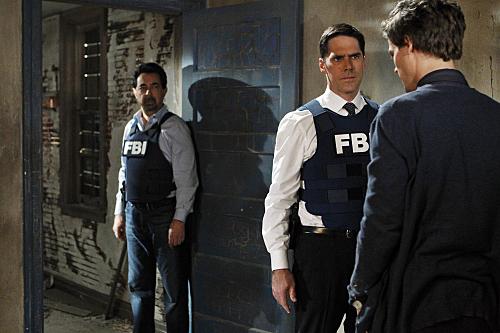 Criminal Minds : Fotograf Joe Mantegna, Matthew Gray Gubler, Thomas Gibson
