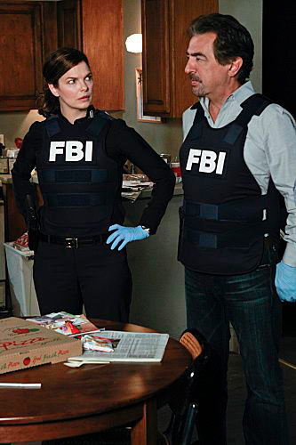 Criminal Minds : photo Jeanne Tripplehorn, Joe Mantegna