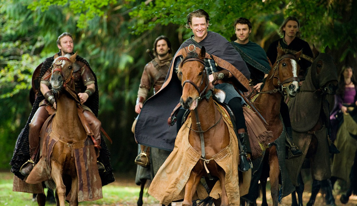 Camelot : Fotograf Clive Standen, Diarmaid Murtagh, Jamie Campbell Bower, Peter Mooney, Philip Winchester
