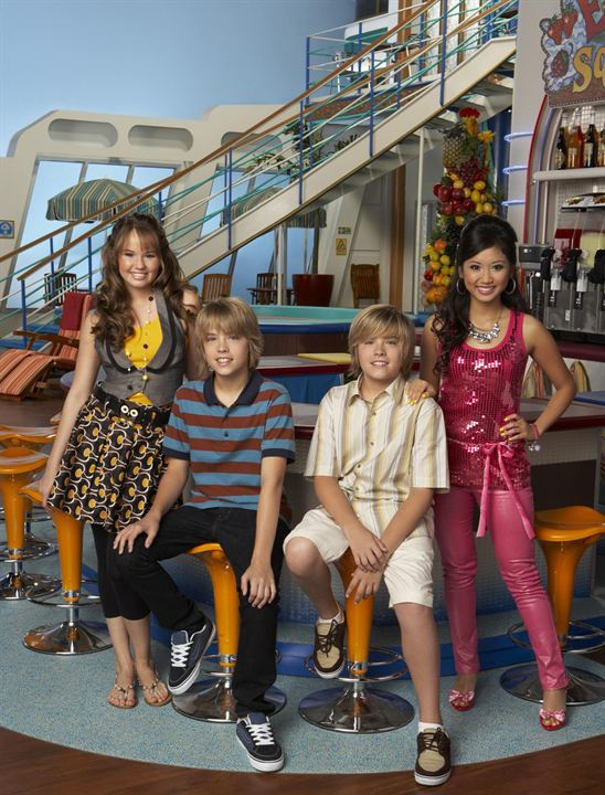 The Suite Life on Deck : Fotograf Brenda Song, Cole Sprouse, Debby Ryan, Dylan Sprouse