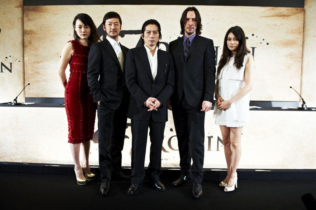 47 Ronin : Vignette (magazine) Hiroyuki Sanada, Keanu Reeves, Rinko Kikuchi, Tadanobu Asano