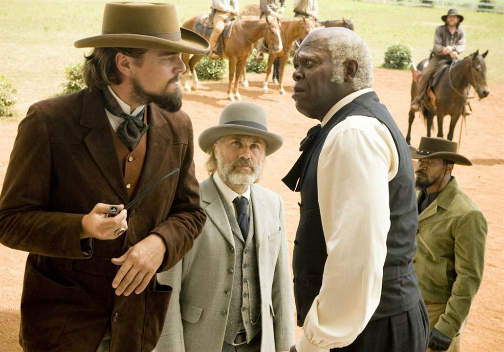 Zincirsiz : Fotograf Christoph Waltz, Leonardo DiCaprio, Samuel L. Jackson