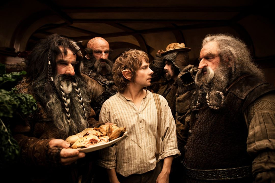 Hobbit: Beklenmedik Yolculuk : Fotograf Graham McTavish, James Nesbitt, John Callen (II), Martin Freeman, William Kircher
