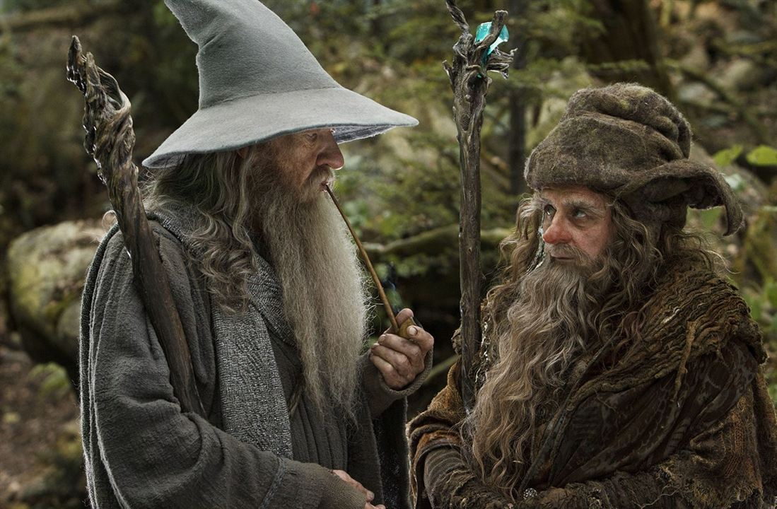 Hobbit: Beklenmedik Yolculuk : Fotograf Ian McKellen, Sylvester McCoy