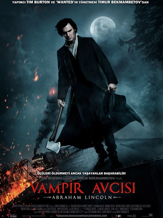 Abraham Lincoln:Vampir Avcisi : Afis