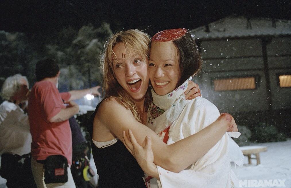 Kill Bill: Volume 1 : Fotograf Lucy Liu, Uma Thurman