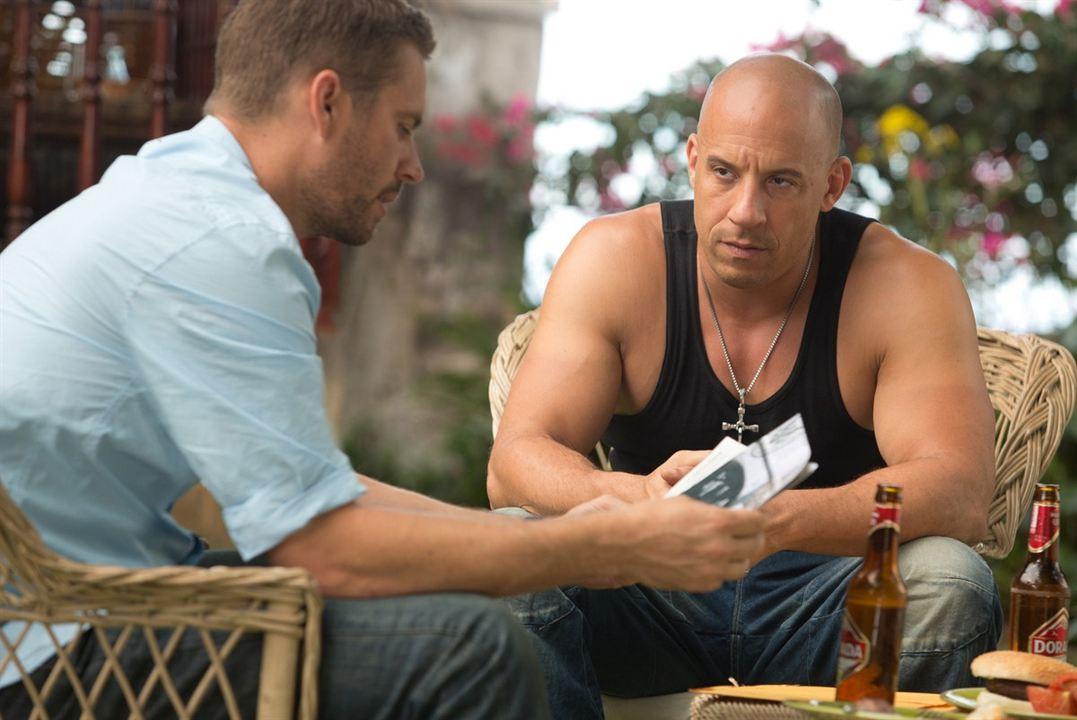 Hizli ve Öfkeli 6 : Fotograf Paul Walker, Vin Diesel