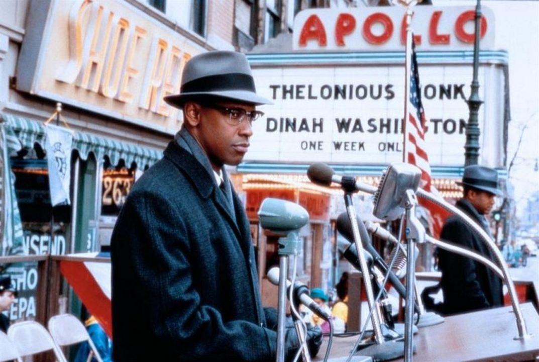 Malcolm X : Fotograf Denzel Washington