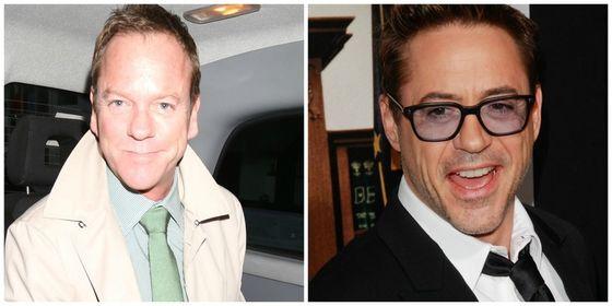 Kiefer Sutherland & Robert Downey Jr.