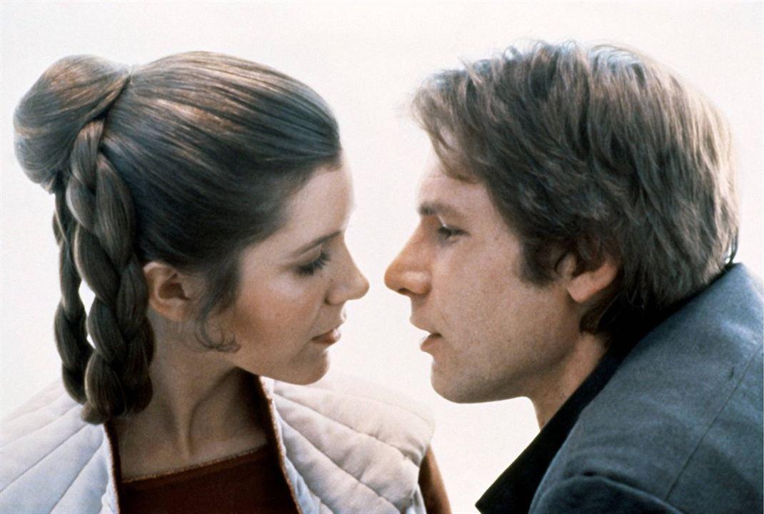 Prenses Leia ve Han Solo