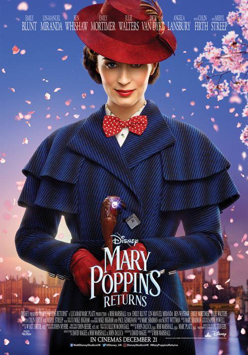 """Emily Blunt'lı """"Mary Poppins: Sihirli Dadı"""" ile Sihirli Günler Geri Dönüyor!"""