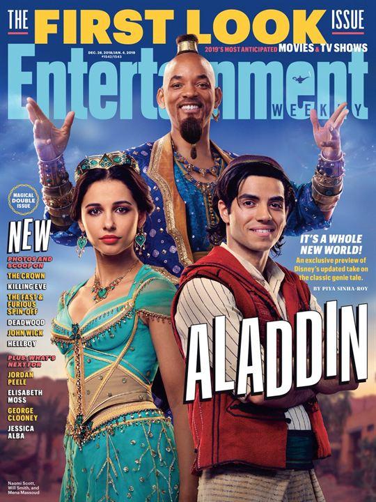 """Masal Uyarlaması """"Aladdin""""den İlk Kareler Geldi!"""