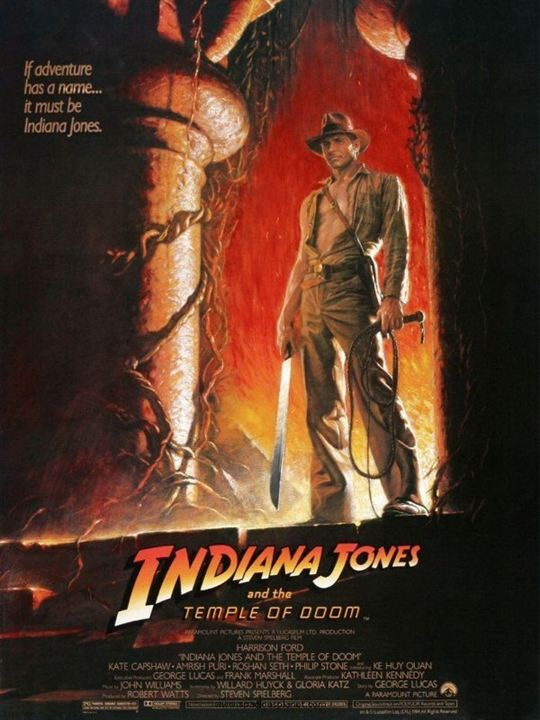 Indiana Jones: Kamçili Adam : Afis