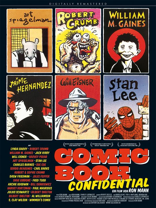 Comic Book Confidential : Afis