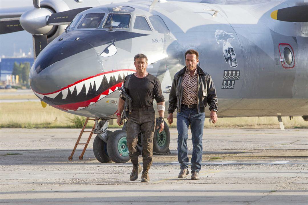 Cehennem Melekleri 3 : Fotograf Arnold Schwarzenegger, Sylvester Stallone