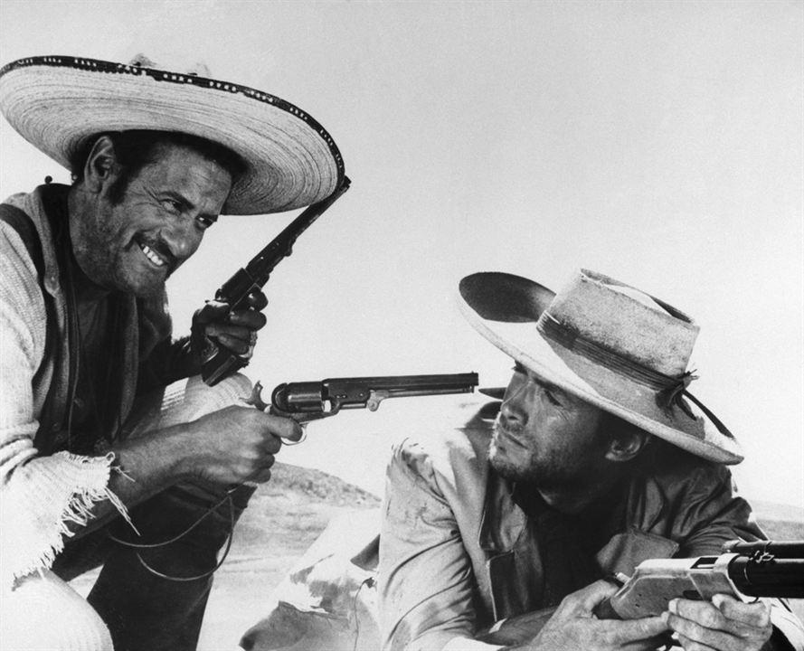 Iyi, Kötü ve Çirkin : Fotograf Clint Eastwood, Eli Wallach