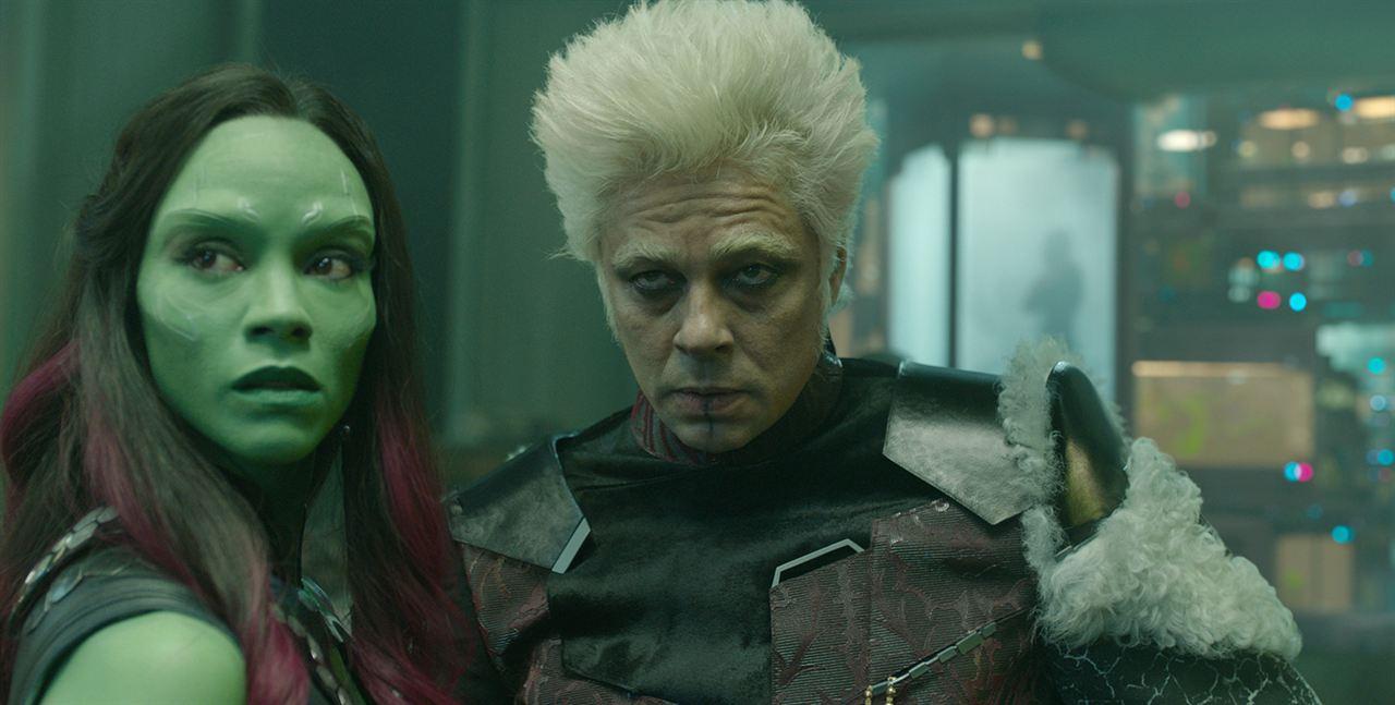 Galaksinin Koruyuculari : Fotograf Benicio Del Toro, Zoe Saldana