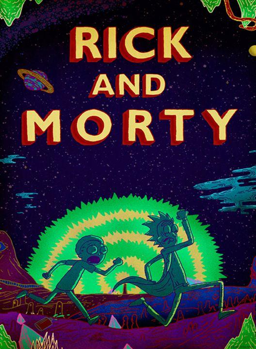 Rick and Morty : Afis
