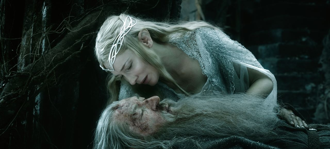 Hobbit: Bes Ordunun Savasi : Fotograf Cate Blanchett, Ian McKellen