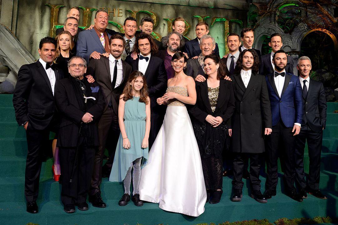 Hobbit: Bes Ordunun Savasi : Vignette (magazine) Adam Brown, Aidan Turner, Andy Serkis, Benedict Cumberbatch, Evangeline Lilly