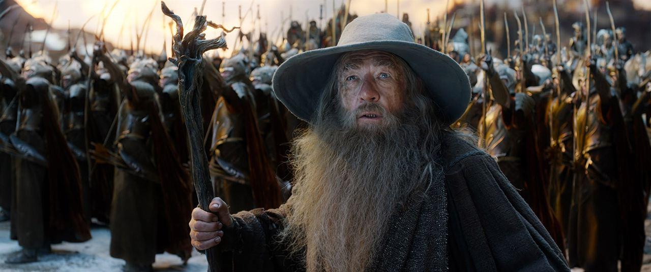 Hobbit: Bes Ordunun Savasi : Fotograf Ian McKellen