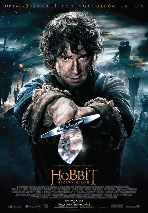 Hobbit: Bes Ordunun Savasi : Afis