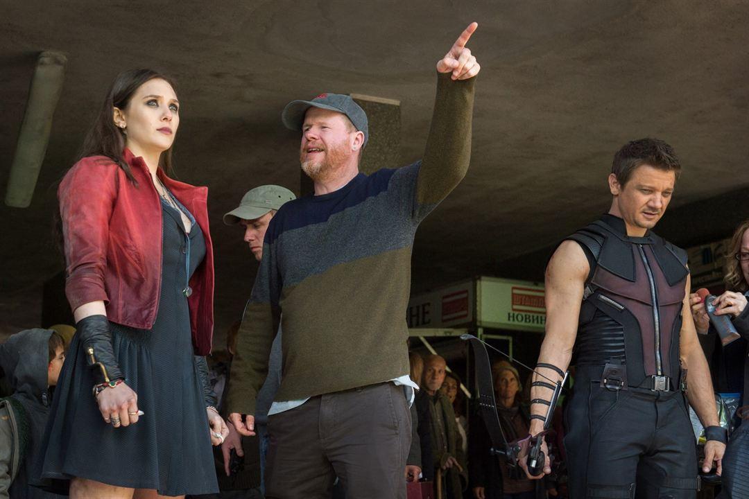 Yenilmezler: Ultron Çagi : Fotograf Elizabeth Olsen, Jeremy Renner, Joss Whedon