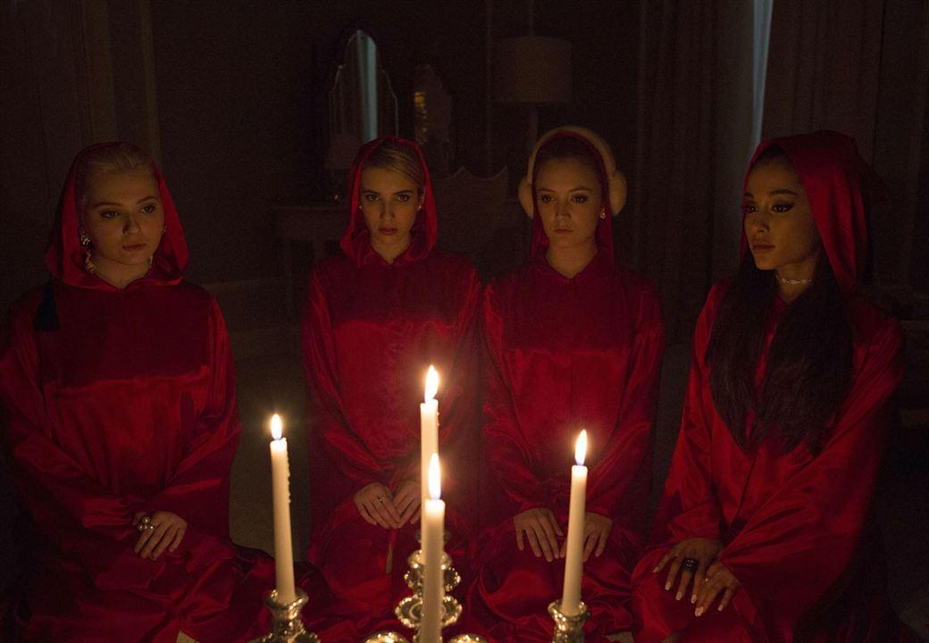 Fotograf Abigail Breslin, Ariana Grande, Billie Lourd, Emma Roberts
