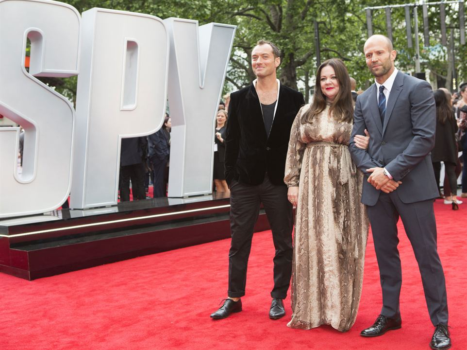 Ajan : Vignette (magazine) Jason Statham, Jude Law, Melissa McCarthy