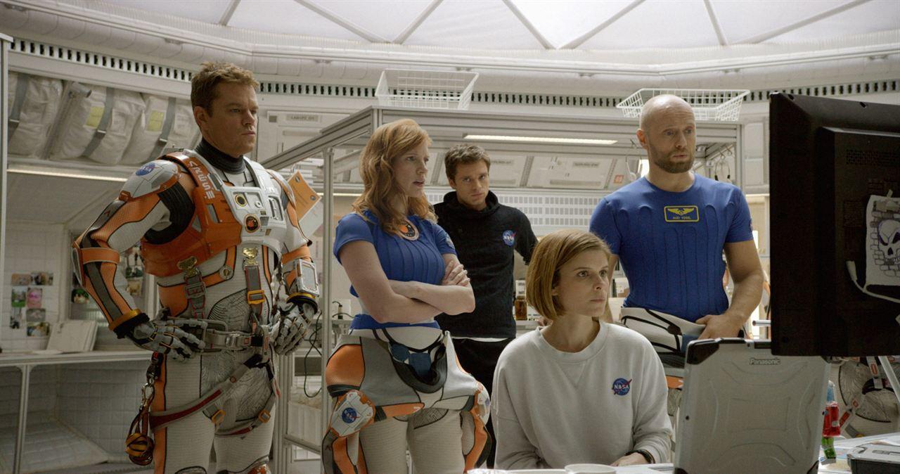 Marsli : Fotograf Aksel Hennie, Jessica Chastain, Kate Mara, Matt Damon, Sebastian Stan