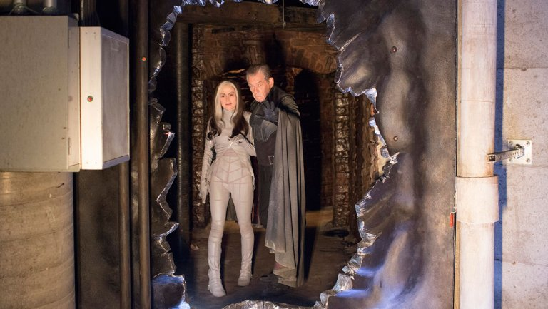 X-Men: Geçmis Günler Gelecek : Fotograf Anna Paquin, Ian McKellen