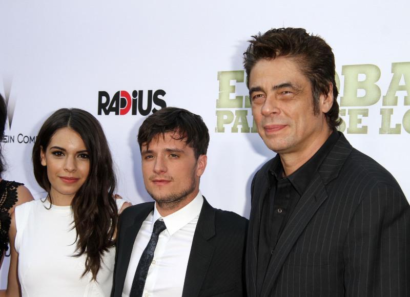 Escobar: Kayip Cennet : Vignette (magazine) Benicio Del Toro, Claudia Traisac, Josh Hutcherson