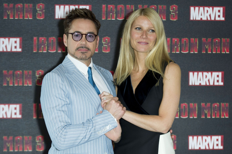 Iron Man 3 : Vignette (magazine) Gwyneth Paltrow, Robert Downey Jr.