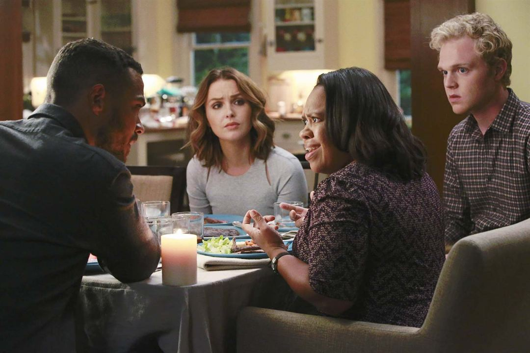 Fotograf Camilla Luddington, Chandra Wilson, Jesse Williams, Joe Adler