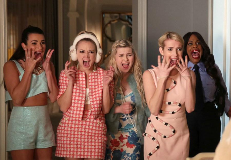 Fotograf Abigail Breslin, Billie Lourd, Emma Roberts, Lea Michele, Niecy Nash