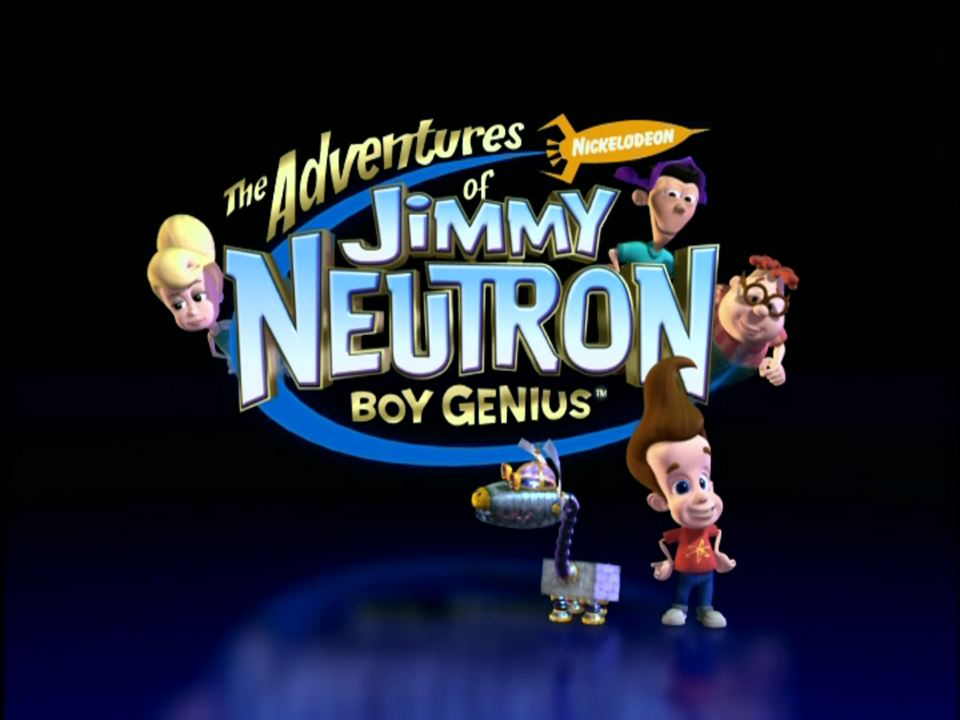The Adventures of Jimmy Neutron: Boy Genius : Afis