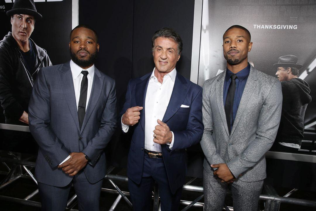 Creed: Efsanenin Dogusu : Vignette (magazine) Michael B. Jordan, Ryan Coogler, Sylvester Stallone
