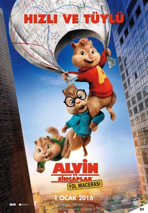 Alvin ve Sincaplar: Yol Macerasi : Afis