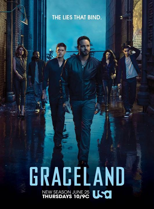 Graceland : Afis