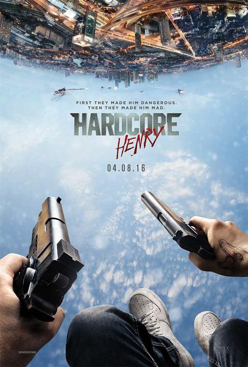 Hardcore Henry : Afis