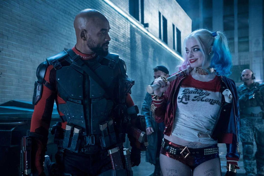 Suicide Squad: Gerçek Kötüler : Fotograf Margot Robbie, Will Smith