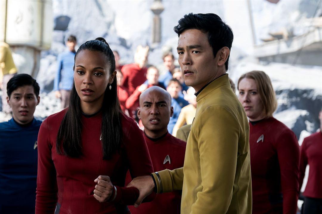 Star Trek Sonsuzluk : Fotograf John Cho, Zoe Saldana