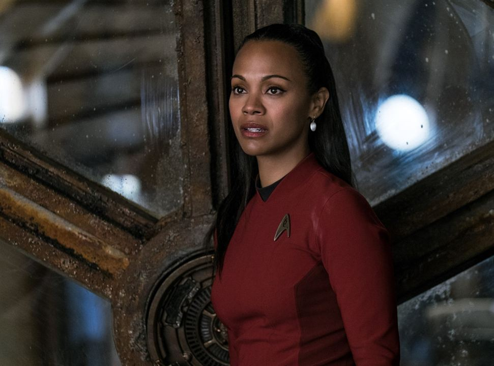 Star Trek Sonsuzluk : Fotograf Zoe Saldana