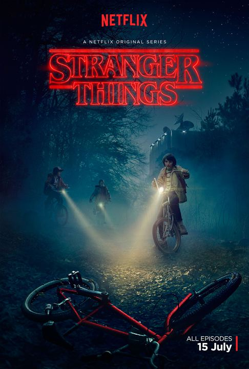 Stranger Things : Afis