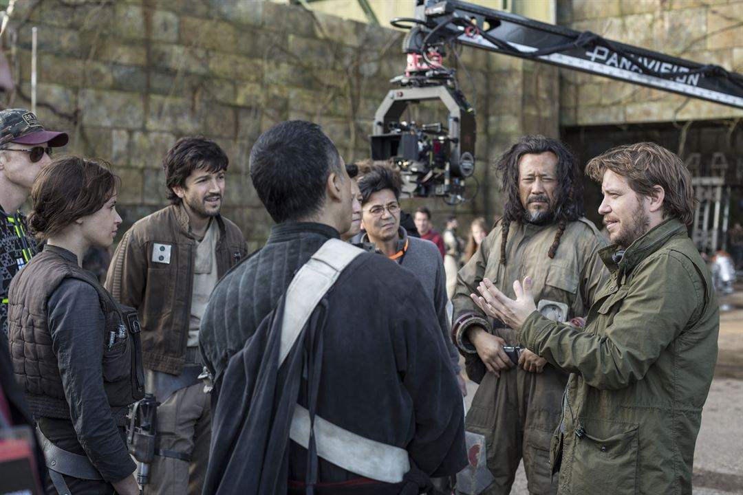 Rogue One: Bir Star Wars Hikayesi : Fotograf Diego Luna, Donnie Yen, Felicity Jones, Gareth Edwards (II), Jiang Wen