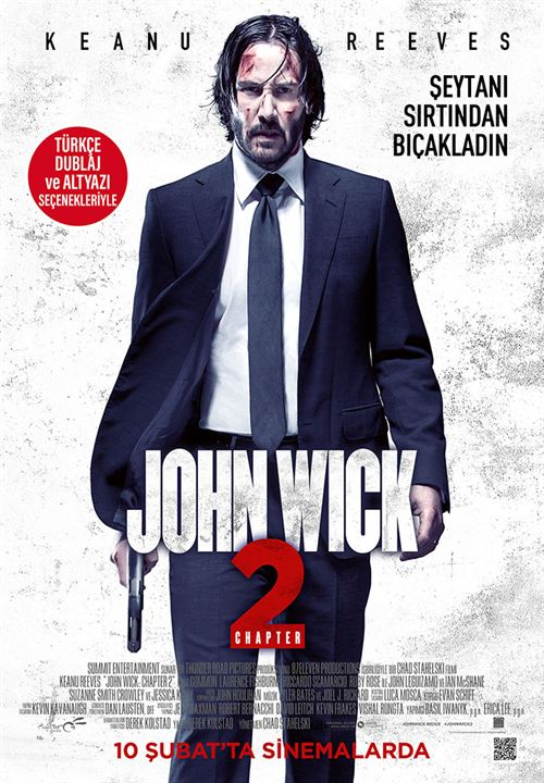John Wick 2 : Afis