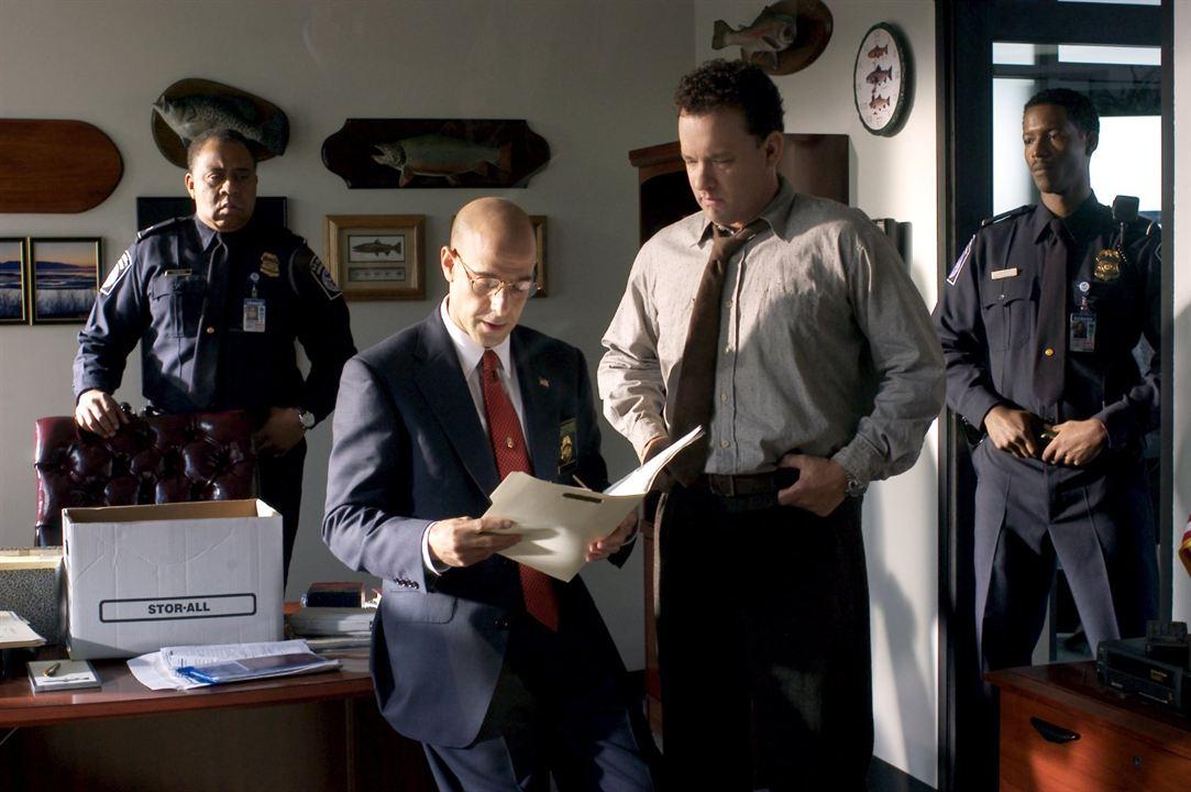 Terminal : Fotograf Barry Shabaka Henley, Corey Reynolds, Stanley Tucci, Tom Hanks